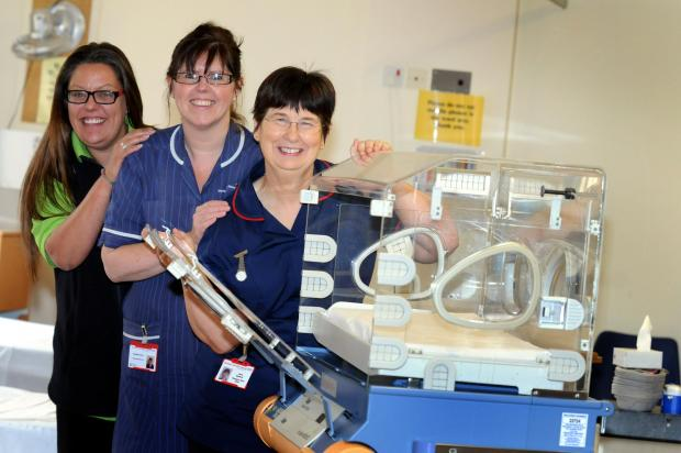 Cash boost for hospital children's ward