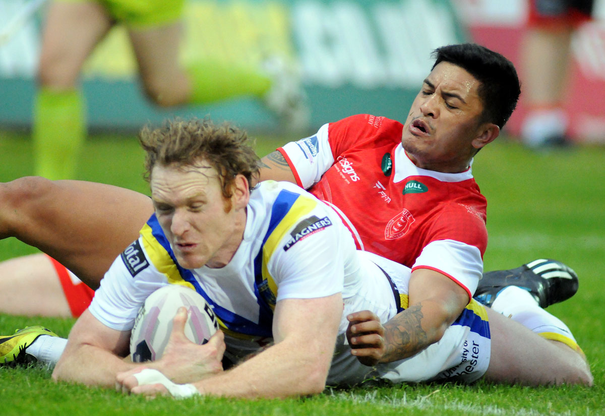 PICTURES ADDED: Hull KR 4 Warrington Wolves 34