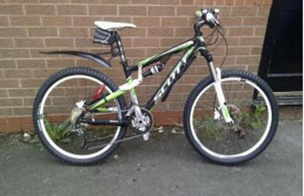 Appeal after mountain bike stolen in Chapelford