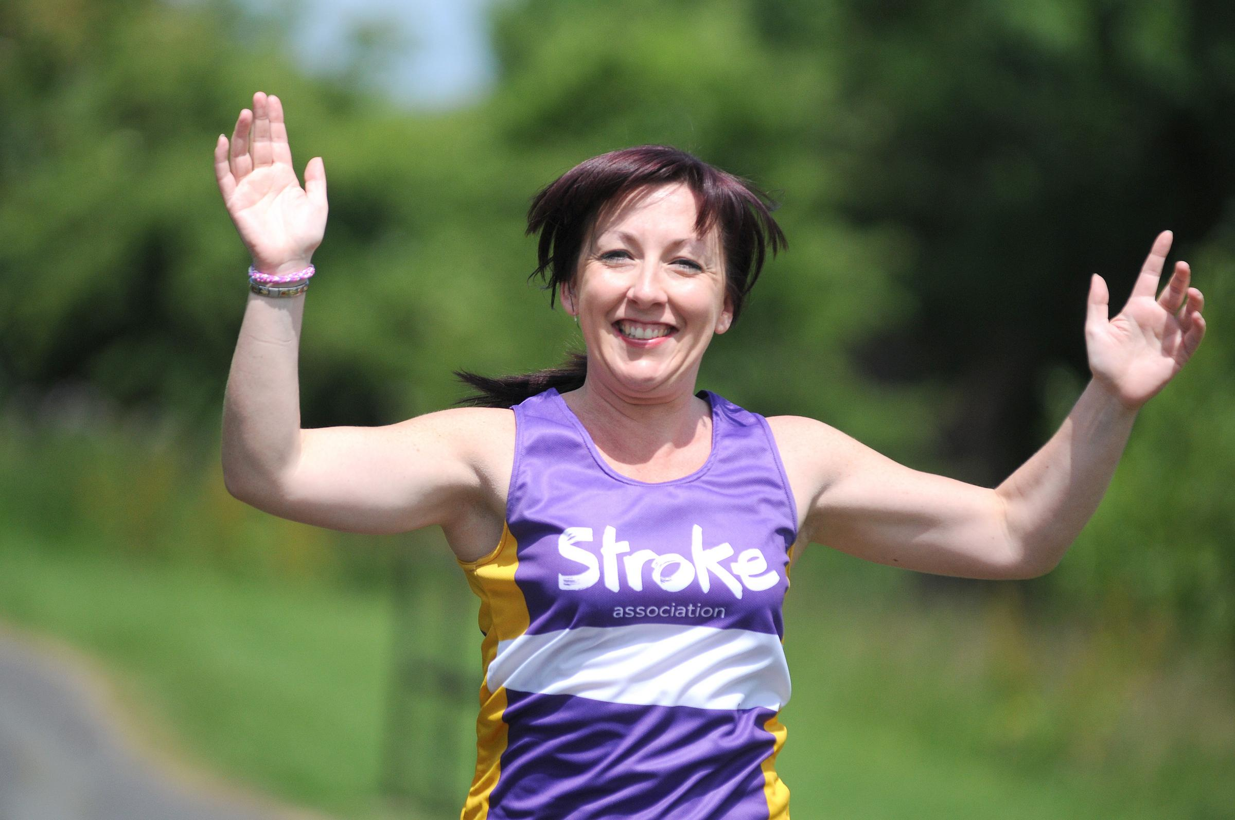 Stockton Heath bobby recovers from stroke for running challenge