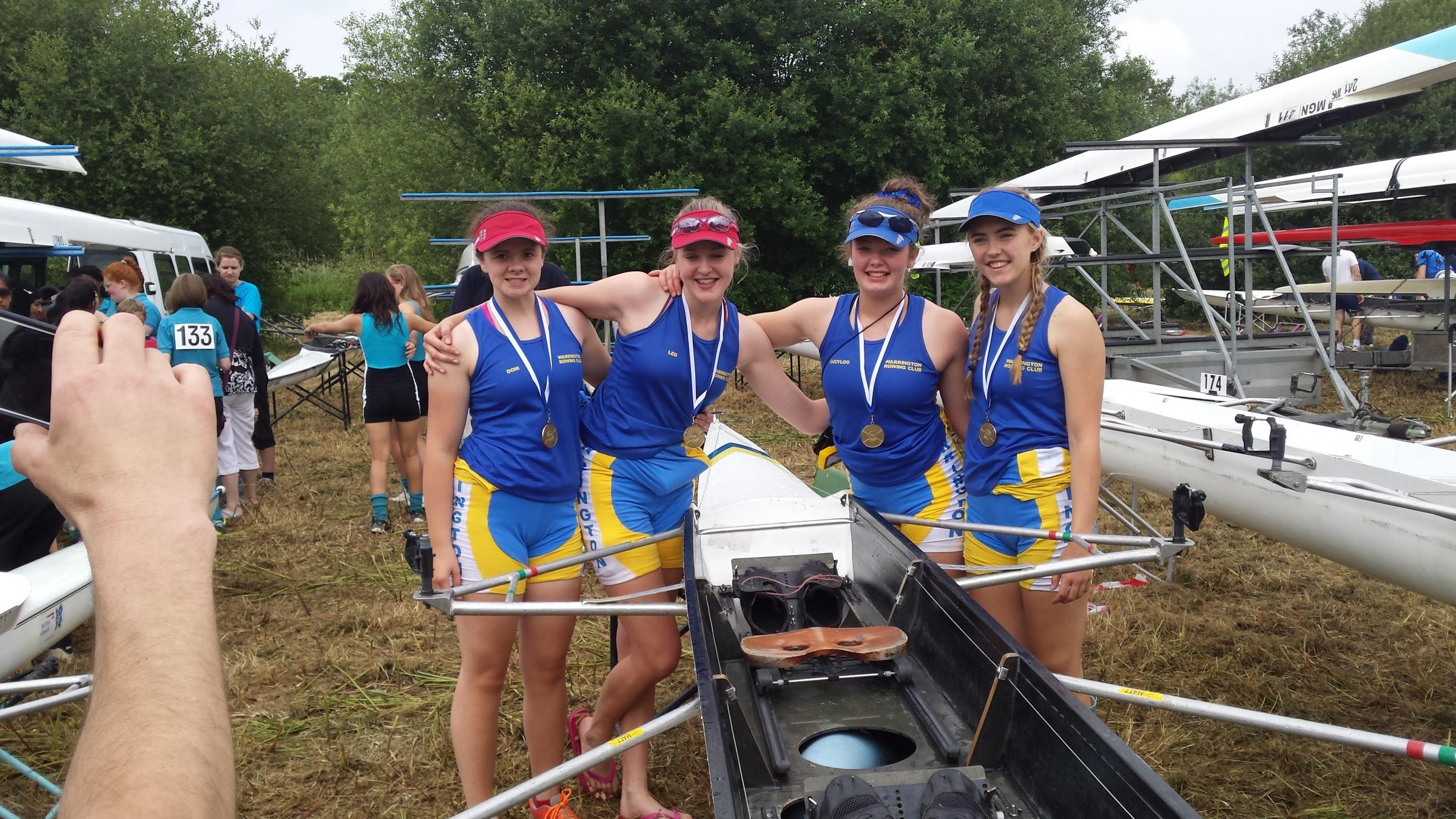 Rowers bring home the gold