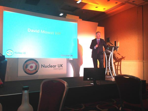 MP welcomes nuclear names to Warrington for conference