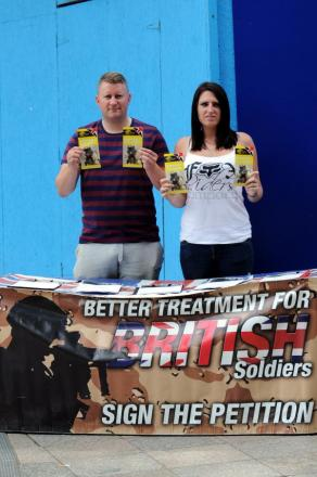 Britain First party leader Paul Golding and group development officer Jayda Fransen