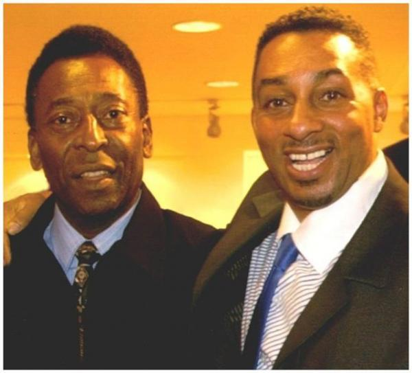 Charlie meeting Pele