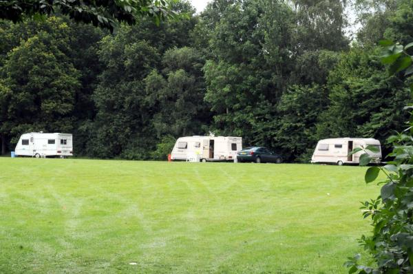 Culcheth travellers escorted out of town by police but more have set up camp in Woolston