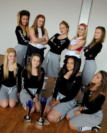 Warrington dance team win Euro crown