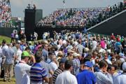 Crowds at The Open. Picture: Paul Heaps