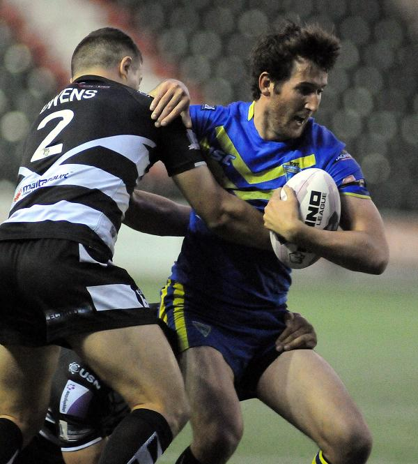 PICTURES ADDED, FULL TIME: Widnes Vikings 28 Warrington Wolves 14