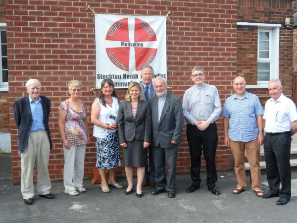Minister hears of good work from Warrington churches in Burma