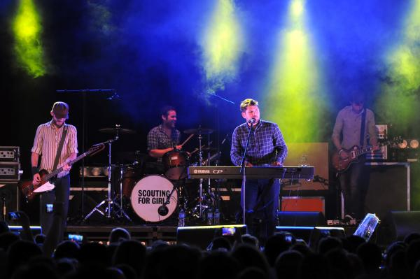 Review: Scouting For Girls, Golden Square