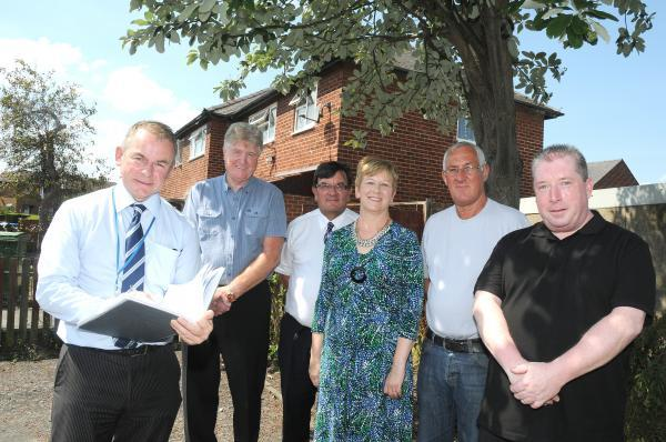 MP takes council chief executive on tour of area in need of revamp