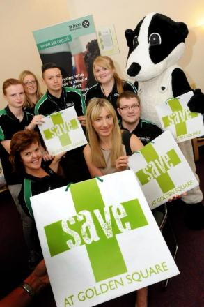 Bertie Badger launches Golden Square first aid course