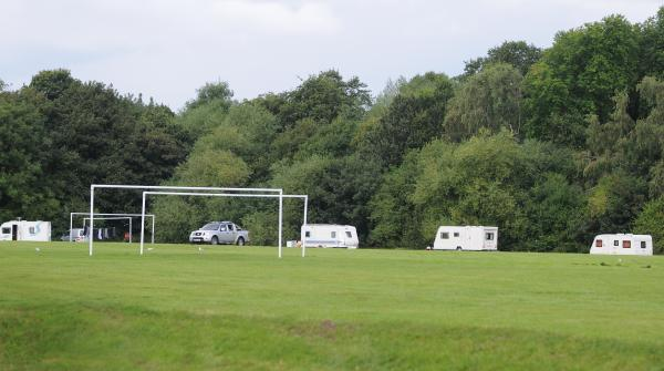 Travellers settle in Old Hall