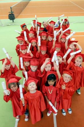 Sankey tots say yes to graduation