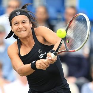 Heather Watson lost her ope