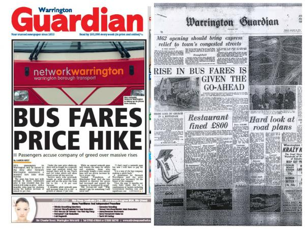 Bus fares on the rise - it is not the first time in Warrington