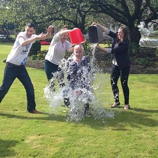 Both sides of the referendum debate have embraced the ice bucket challenge
