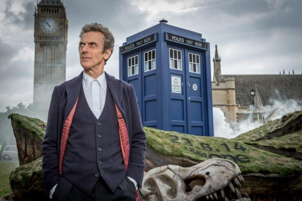 Peter Capaldi stars as the new Doctor