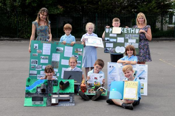 Penketh youngsters showcase history of area