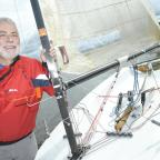 Warrington Guardian: Dave Kelsall is a keen sailor and used to be in the merchant navy
