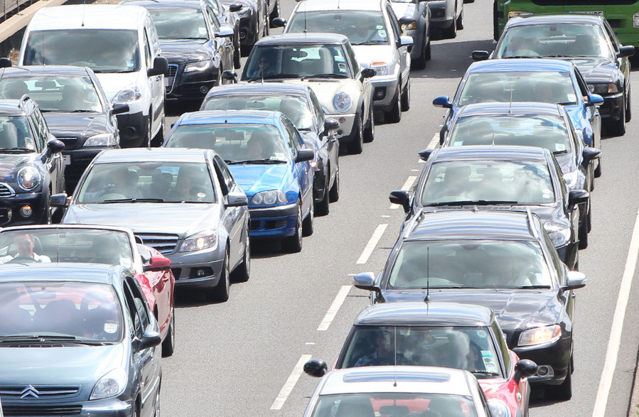 Traffic delays on M6 named in list