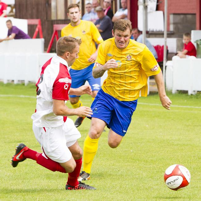 Matt Doughty hopes to be fit for the FA Cup clash. Picture: JOHN HOPKINS