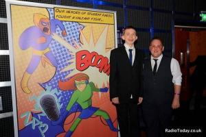 Orford student gets award from Radio One's Grimmy