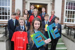 Kind hearted pupils help cancer charity