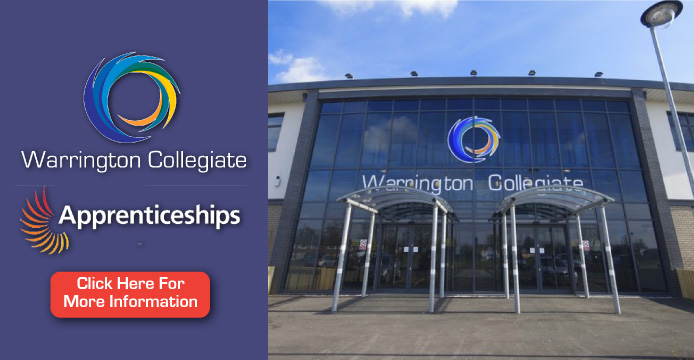 Warrington Guardian: Warrington Collegiate Header