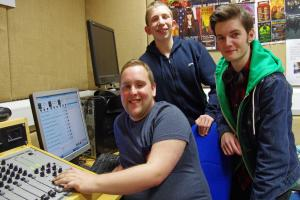 Orford student goes ga ga for radio