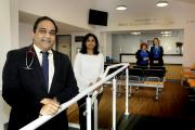 Dr Ravi Elaprolo, Dr Sangeetha Jonna  with  Christine lomax and Jade Bond after the new health centre opened DGE140115