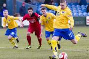 Metcalfe has scored from the spot six times this season Picture: JOHN HOPKINS