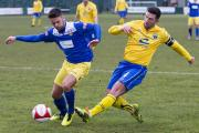Town beat Farsley on Saturday, but will not play tonight, Monday. Picture: JOHN HOPKINS