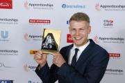 Former bricklaying apprentice Ashley Terron took last year's north west Apprenticeship Champion honour