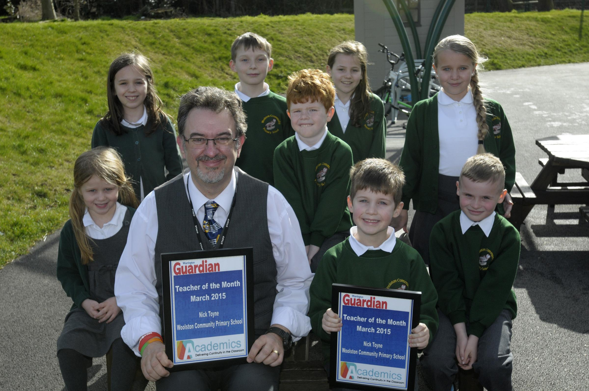 Teacher of the month named after three decades in teaching