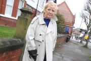 Parish councillor Sonia Boggan is calling for the pavements to be improved MBA160315