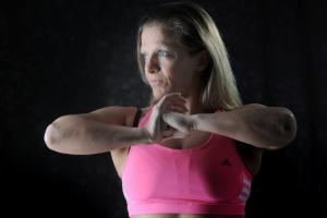 Fitness fanatic comes top in competition