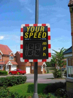 500 less speeding vehicles on village roads