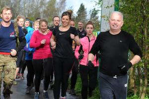 63-year-old puts fitness fanatics half his age through their paces at Birchwood bootcamp