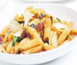 Warrington Guardian: Char-grilled Chicken, Penne Pasta and Five Vegetable Sauce