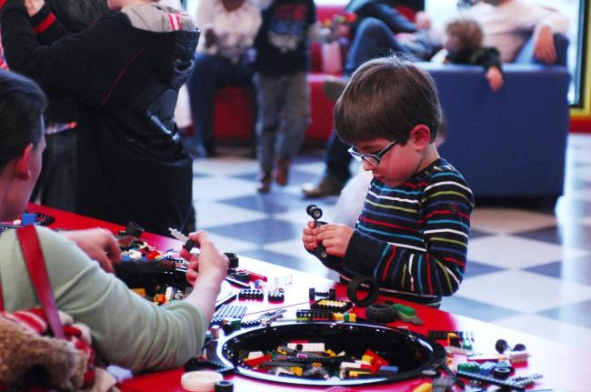 Make your own creations at Legoland Discovery Centre