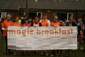 Lymm woman raises money to pay for 2,000 breakfasts
