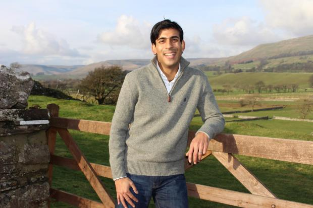 Warrington Guardian: RURAL: Rishi Sunak