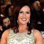 Warrington Guardian: Susanna Reid and Holly Willoughby go Grecian in stunning white dresses for the NTAs