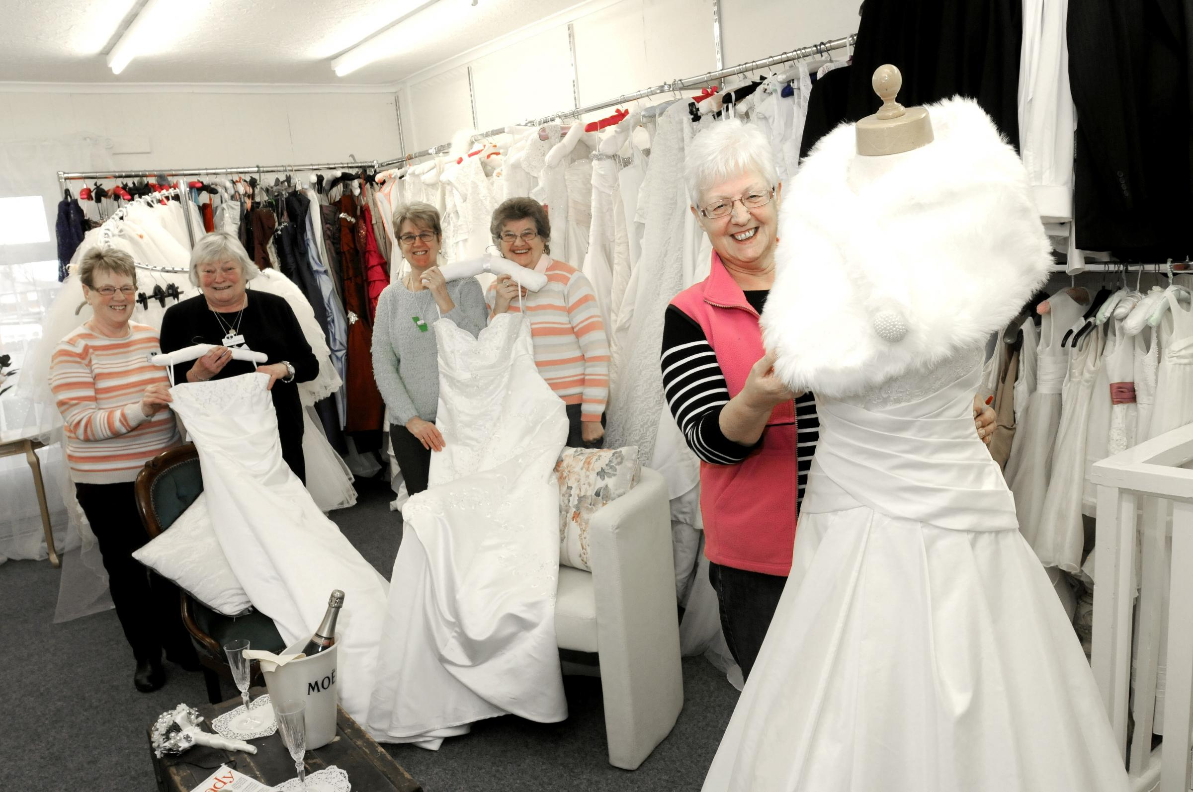 Bride inspired to renew vows after seeing wedding dress in St ...