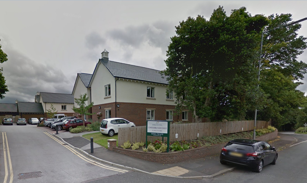Cheshire Grange Care Home in Lymm was one of three care homes and services in Warrington to be handed a rating of good by the Care Quality Commission. Picture by Google Maps.