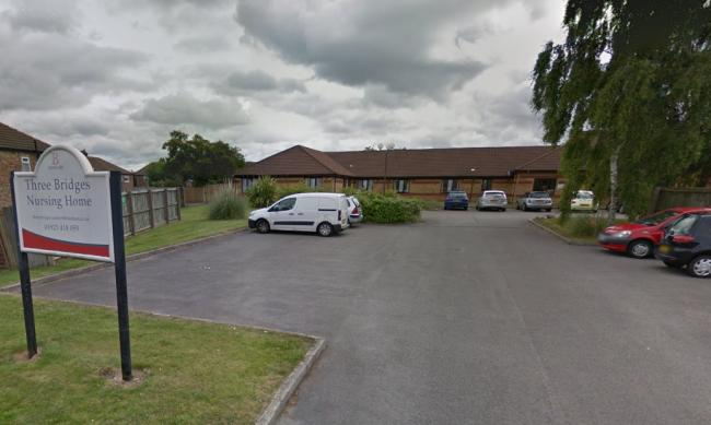 Karen Rooney has been sanctioned by the Nursing and Midwifery Council for placing vulnerable residents at Three Bridges Nursing Home at risk of harm. Picture by Google Maps.