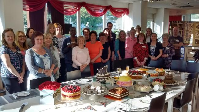 Members of the Clandestine Cake Club in Warrington