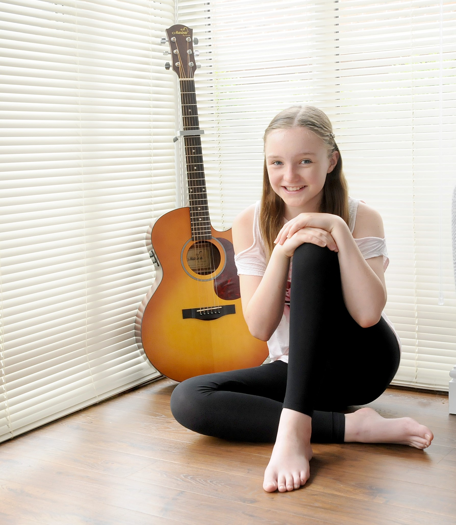 Erin Jordan was a runner up in the national songwriter of the year competition.
