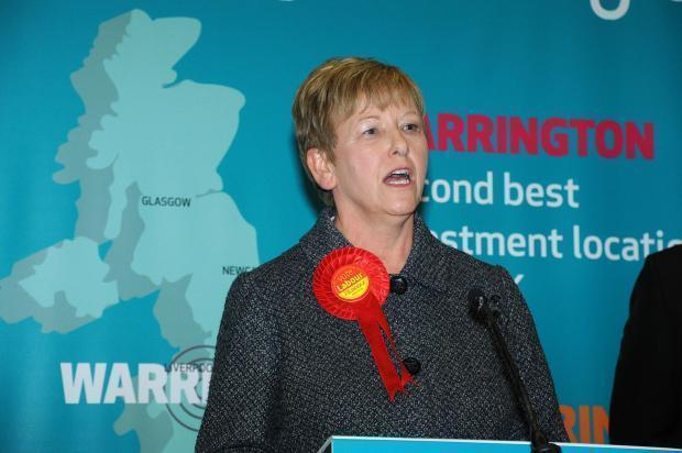 Warrington North MP Helen Jones